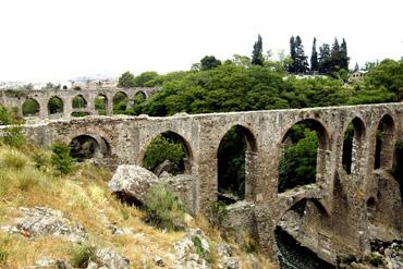 Tarihi su kemerlerine büyük onarım